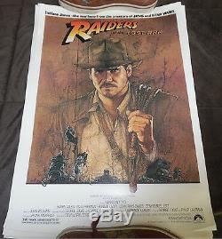 15 SHEET LOT ORIGINAL 1981 Raiders of the Lost Ark Mini Poster Indiana Jones