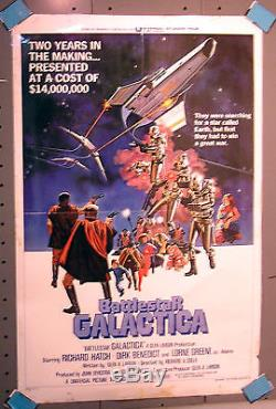 1978 Battlestar Galactica Original 1-Sheet Movie Poster