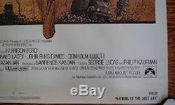 1981 Raiders Of The Lost Ark Original 1 Sheet Movie Poster 27 x 41
