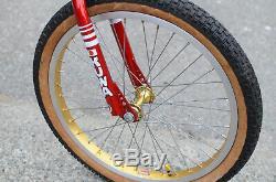 1982 Kuwahara ET Factory Original Movie Poster Build Vintage Old School BMX