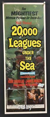 20,000 Leagues Under the Sea Movie Poster 1954 Disney Hollywood Posters