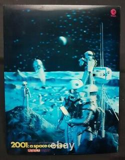 2001 A SPACE ODYSSEY (1968) Rare 3D Lenticular Standee Poster STANLEY KUBRICK