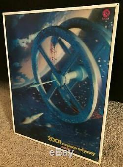 2001 A SPACE ODYSSEY 3-D Lenticular Cinerama Standee 10.5x13.5 Stanley Kubrick
