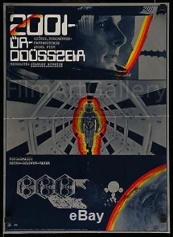 2001 A SPACE ODYSSEY Original HUNGARIAN poster 2 Stanley Kubrick Film/ArtGallery