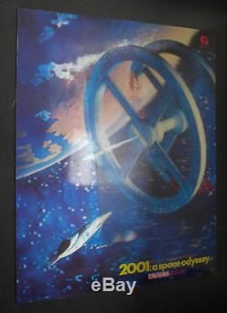 2001 A Space Odyssey 1968 10,4x13,5 Original Movie Poster 3D Lenticular rare
