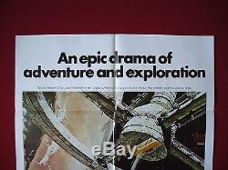 2001 A Space Odyssey 1980 Original Movie Poster 1sh Stanley Kubrick's Nm