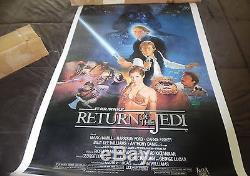 50 Sheet Box Original 1983 Star Wars Return Of The Jedi Style B Posters 27x41
