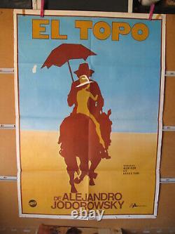 A7754 Alejandro Jodorowsky El Topo David Silva Alfonso Arau