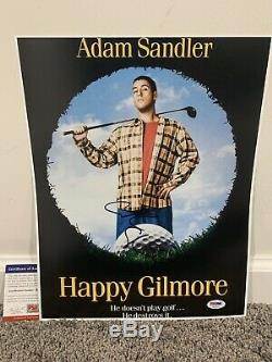 ADAM SANDLER Happy Gilmore SIGNED Autograph 11x14 Movie Poster Photo withPSA COA