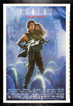 ALIENS CineMasterpieces RECALLED 1SH PRINTERS PROOF ORIGINAL MOVIE POSTER 1986