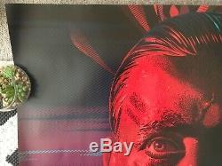 APOCALYPSE NOW 4K FINAL CUT Original UK Cinema Quad Poster Laurent Durieux