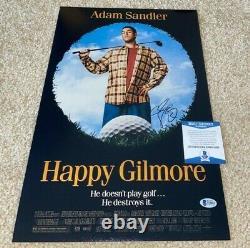 Adam Sandler Signed Happy Gilmore 12x18 Photo Poster Actor Comedian Waterboy Bas