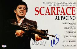Al Pacino Signed 11 x 17 Scarface Movie Poster Photo Tony Montana PSA DNA 5