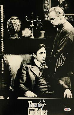 Al Pacino Signed 11 x 17 The Godfather Movie Poster Photo The Don PSA DNA 6