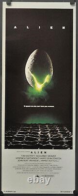 Alien 1979 Original 14x36 Rolled Nm Movie Poster Sigourney Weaver John Hurt