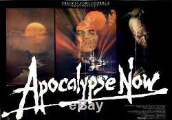 Apocalypse Now ORIGINAL DIN A0 Kinoplakat Marlon Brando / Martin Sheen /Bob Peak