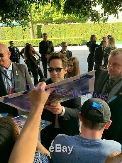 Avengers Endgame Signed 12x18 Movie Poster By 16 Cast Chris Evans Tom Holland