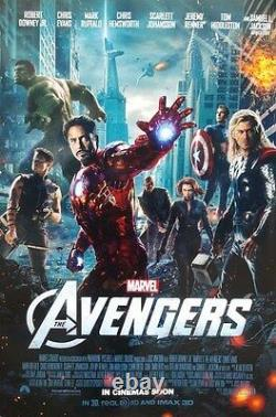 Avengers Final Orig Movie Poster Double Sided 27x40