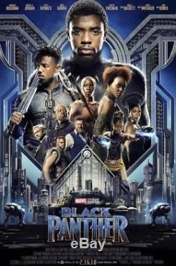 Avengers Infinity War & Black Panther Original Double Sided 27x40 Movie Posters
