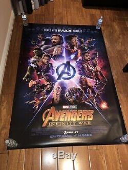 Avengers Infinity War Bus Shelter Poster
