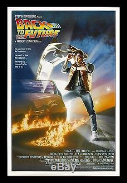BACK TO THE FUTURE CineMasterpieces ORIGINAL MOVIE POSTER ROLLED NM-M 1985