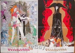 BELLADONNA OF SADNESS Japanese B2 movie posters x 2 export styles YAMAMOTO