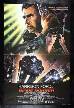BLADE RUNNER CineMasterpieces SCIENCE FICTION ORIGINAL MOVIE POSTER 1982