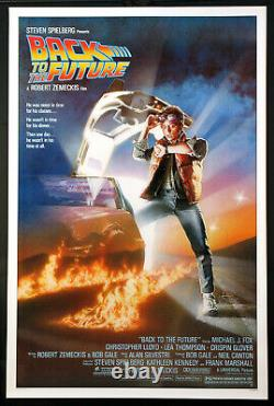Back To The Future Michael J. Fox Spielberg 1985 1-sheet Rolled Nm Nss #85/0064