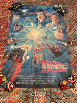 Back to the Future by Barroni Limited Edition Screen Printed Movie Poster Mondo