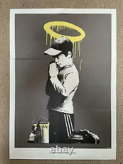 Banksy original Forgive Us Our Trespassing film poster MINT