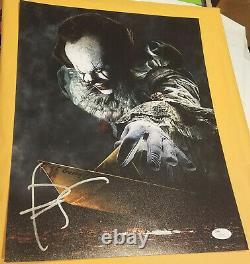 Bill Skarsgard Signed 11x14 Photo Poster Autograph Jsa Psa Coa It Pennywise