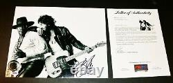Bruce Springsteen Autographed SIGNED 11x14 Picture Photo Poster PSA JSA