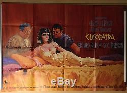 CLEOPATRA DIN A0 Querformat Original Filmplakat EA 1963 Elizabeth Taylor