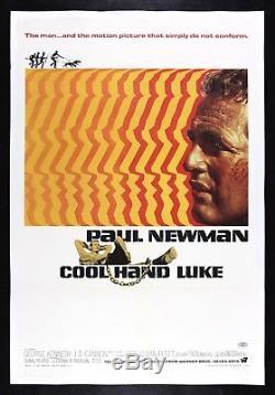 COOL HAND LUKE CineMasterpieces 1967 VINTAGE ORIGINAL MOVIE POSTER PAUL NEWMAN