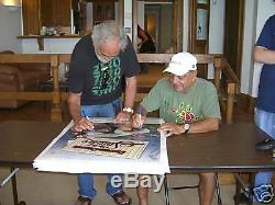 Cheech Marin & Tommy Chong Signed Up In Smoke 24x36 Poster PSA/DNA COA Autograph