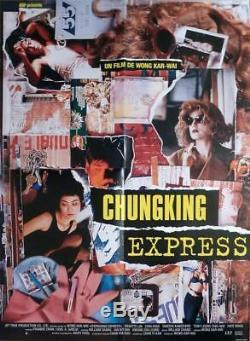 Chungking Express Wong Kar Wai / Leung Hong Kong Original Movie Poster