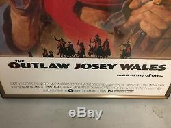 Clint Eastwood Autographed Josey Wales Movie Poster