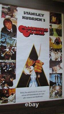 Clockwork Orange Movie Poster Vintage