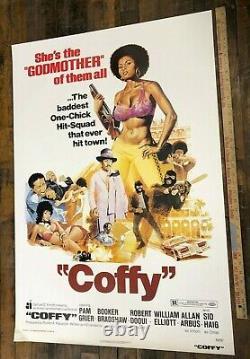 Coffy (American International, 1973). One Sheet (27 X 41). Blaxploitation S/S