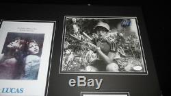 Corey Haim Signed Framed 16x20 Poster Photo Set JSA Lucas