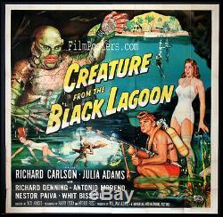 Creature From The Black Lagoon Universal Horror 1954 Six-sheet Billboard