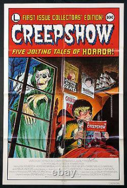 Creepshow George Romero Horror Autographed 1982 1-sheet Near Mint