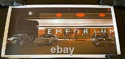 Dazed And Confused movie poster Art Print Jeff Boyes Emporium VARIANT mondo sdcc