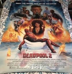 Deadpool 2 4'x6' Original Bus Shelter Poster