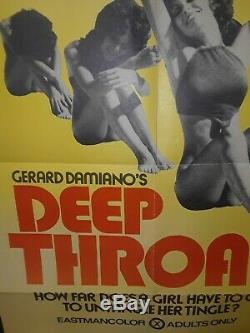 Deep Throat Original Movie Poster