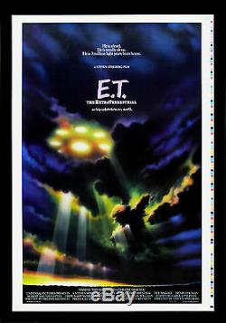 E. T. EXTRA TERRESTRIAL CineMasterpieces ADVANCE PRINTERS PROOF MOVIE POSTER