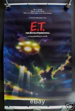 E. T. The Extra Terrestrial Movie Lobby Standee Poster