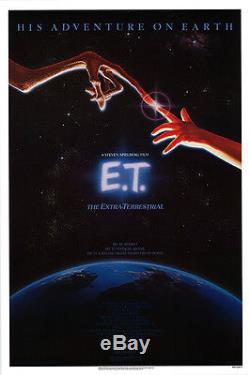 E. T. The Extra-terrestrial (1982) Original Movie Poster Rolled