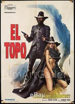EL TOPO 1973 Alejandro Jodorowsky Italian 39x55 poster style A filmartgallery