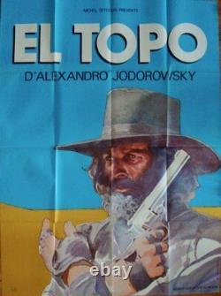 EL TOPO French Grande movie poster 47x63 ALEJANDRO JODOROWSKY GIR MOEBIUS 1973